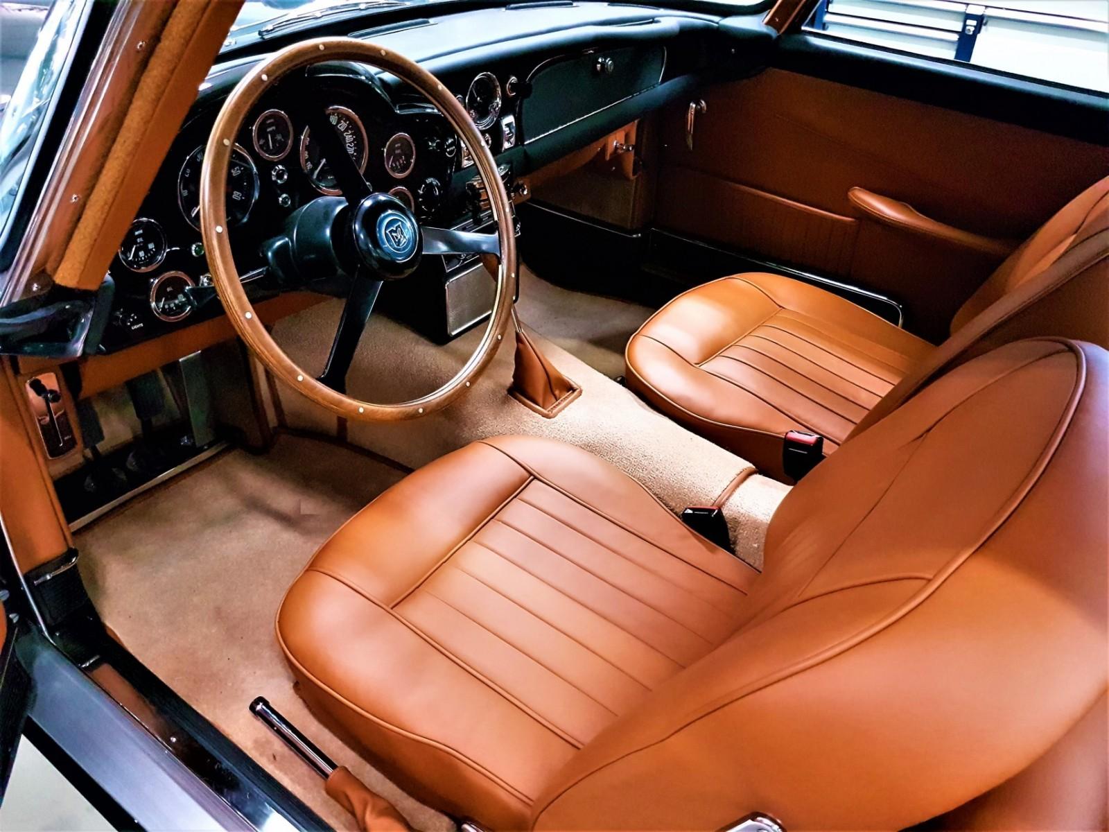 Aston Martin Db5 Projects Pendessa Aston Martin Interior Upholstery